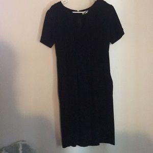 Black size 6 Calvin Kline dress
